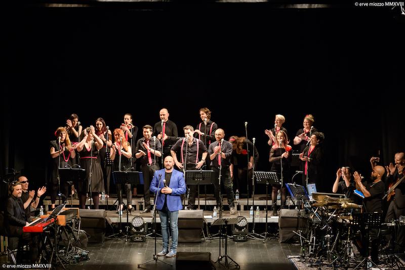 The NuVoices Project feat. Mylious Johnson, coro gosple udine, coro udine, coro Rudy Fantin
