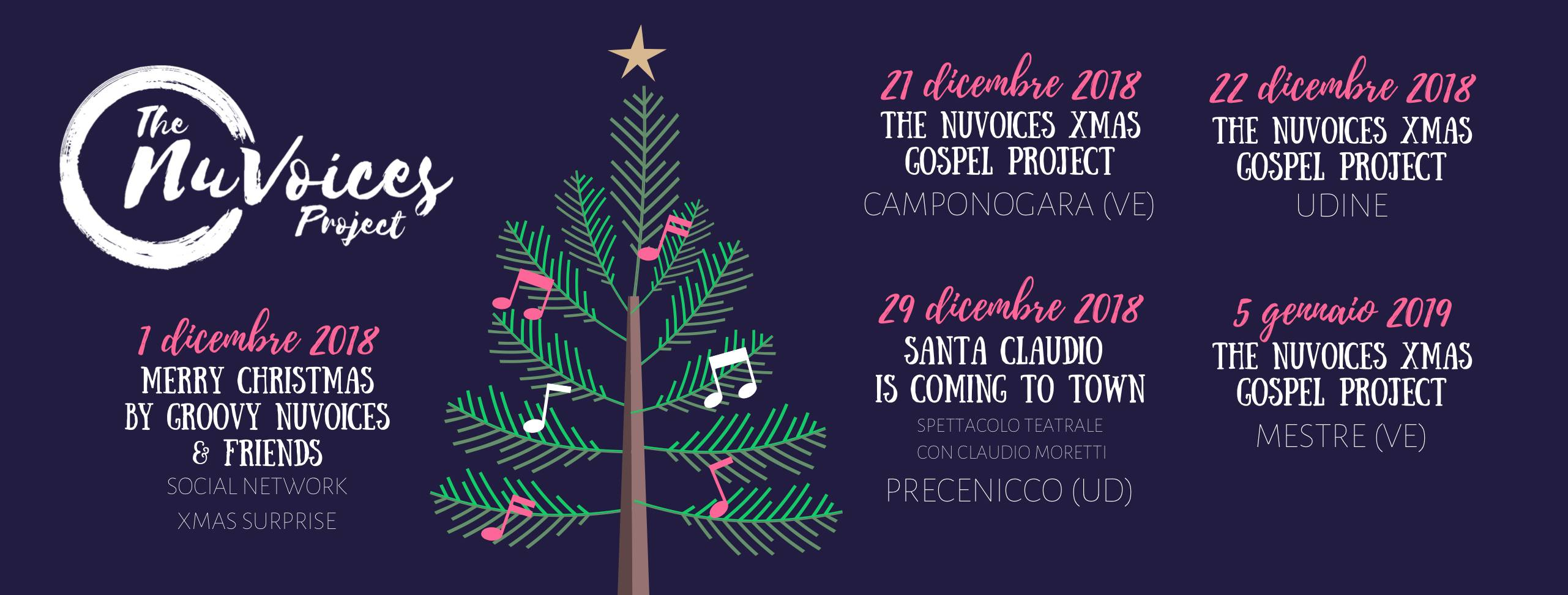 The NuVoices Project - Christmas Tour 2018